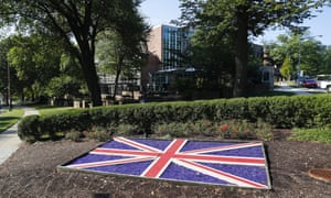 The British embassy in Washington has suffered a rocky week.