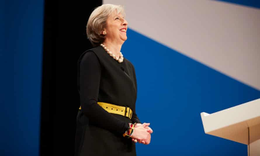 The prime minister Theresa May
