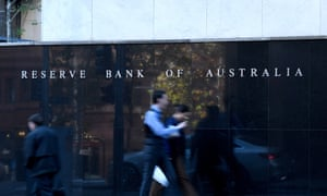 Reserve Bank of Australia building in Sydney.