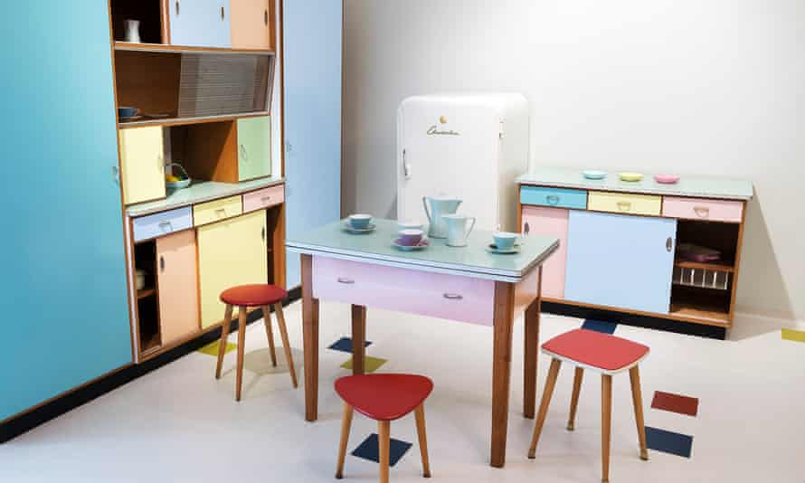 A kitchen furnishing collection at the Imperial Furniture Collection.