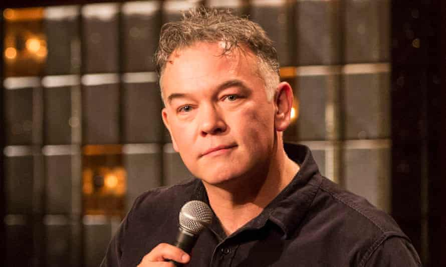 Plunges into the grey area between truth and fiction … Stewart Lee.