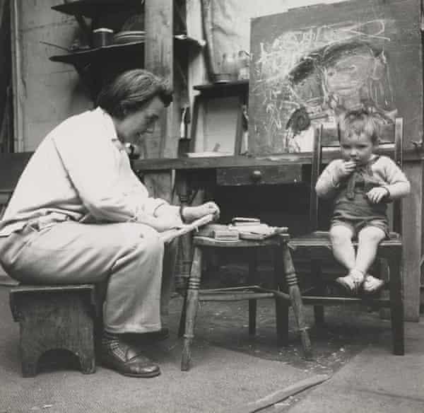 The Scottish artist Joan Eardley