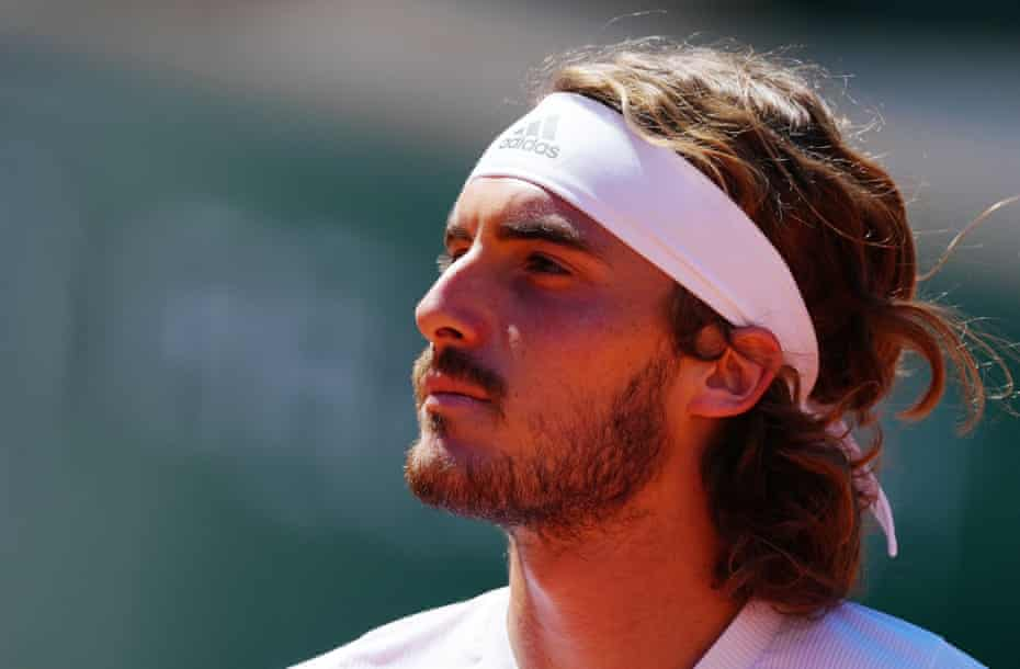 Stefanos Tsitsipas was two sets up against Novak Djokovic in the French Open final but was unable to fend off a ferocious comeback from the world No 1.
