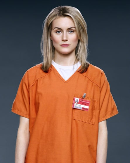Taylor Schilling as Piper Chapman in Orange Is the New Black.