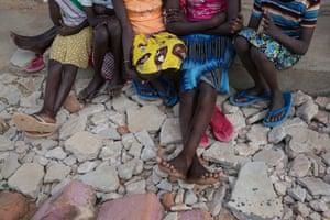 Girls in Uganda, where FGM is still practised, despite being banned in 2010