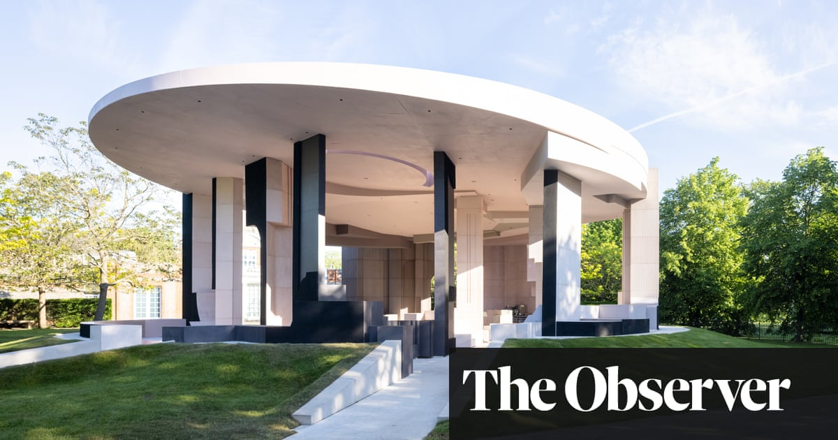 Serpentine Pavilion 2021 review – a sophisticated chimera of light and depth