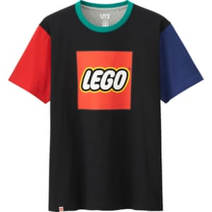 T-shirt with Lego logo motof