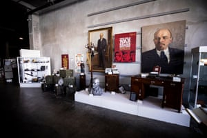 Hundreds of Cold War relics from the KGB Espionage Museum are on display