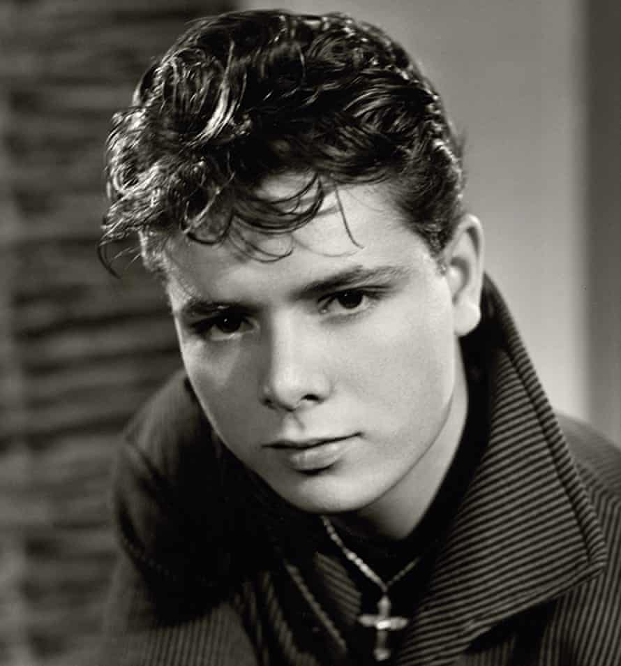 Young idol: Callow always had a crush on Cliff Richard.