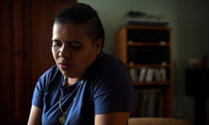 Wendy García she is currently living in temporary accommodation in Portland, Oregon, while she awaits a hearing on her claim of refugee status.