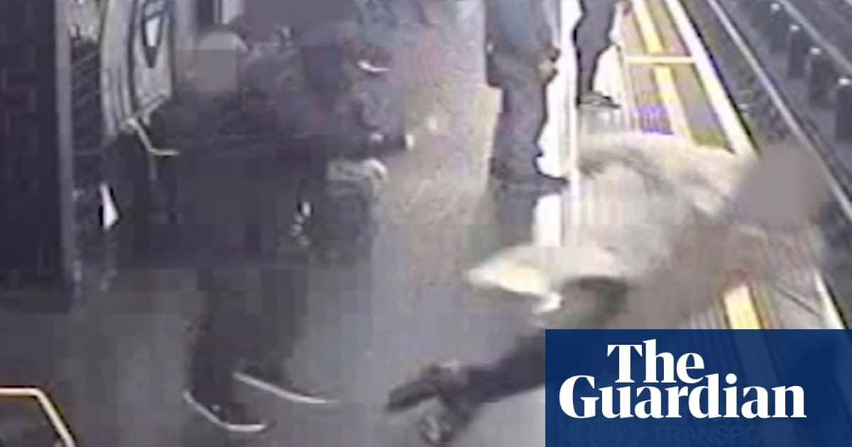 Man jailed for life for pushing 91-year-old on to tube