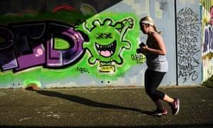Graffiti on a street in Glasgow