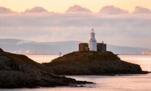 Lighthouse, Mumbles, Gower Peninsula, Wales