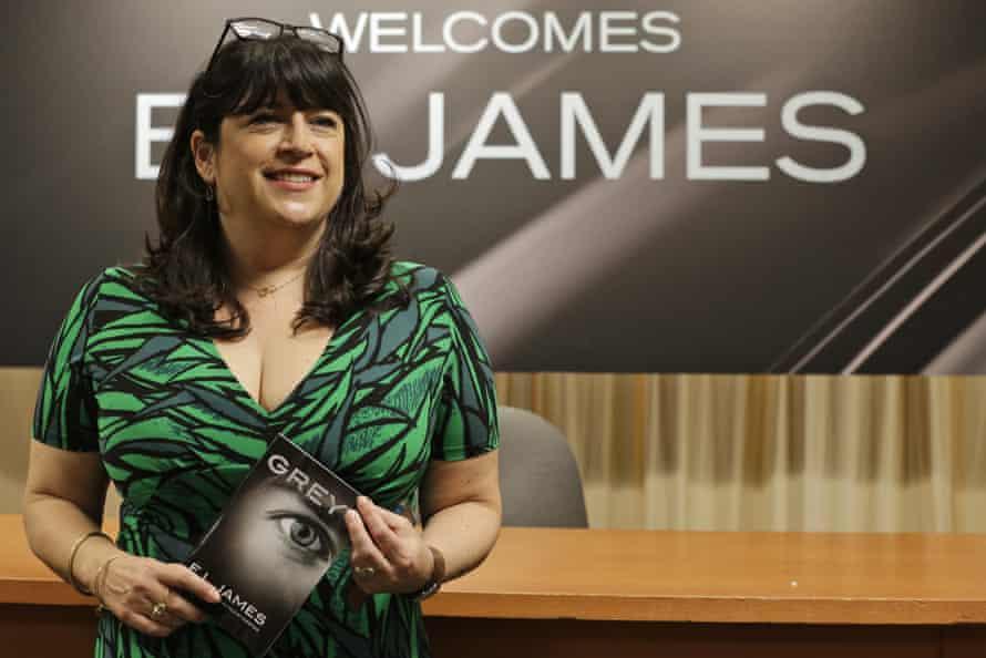 Author EL James in 2015.