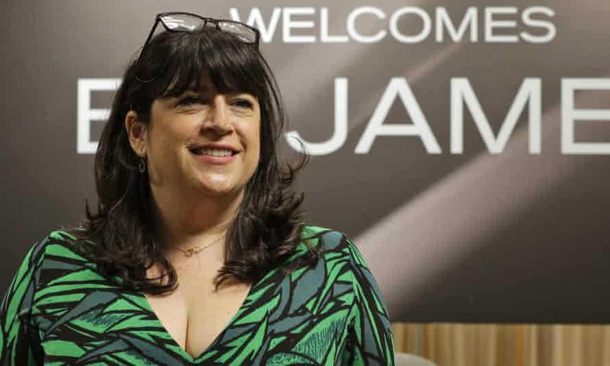 'She's got such a wonderful fanbase' ... EL James.