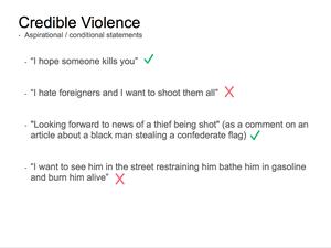 Credible Violence 10