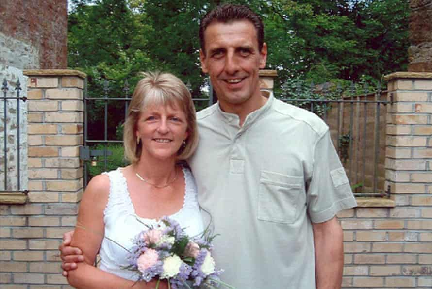 Stephen Mellor with wife Cheryl who survived the attack
