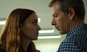 'Una is a character and a story that fails to engage and the argument for its existence as a film is a sadly unsuccessful one' ... Rooney Mara and Ben Mendelsohn in Una.