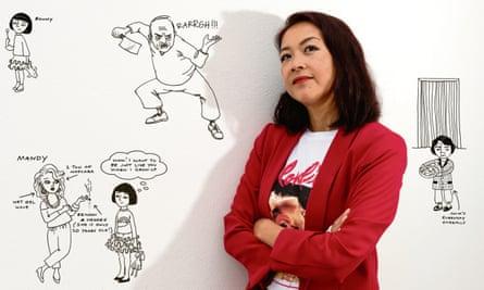 Sue Cheung … 'I imagined a better life involving cornicing and pelmets.'