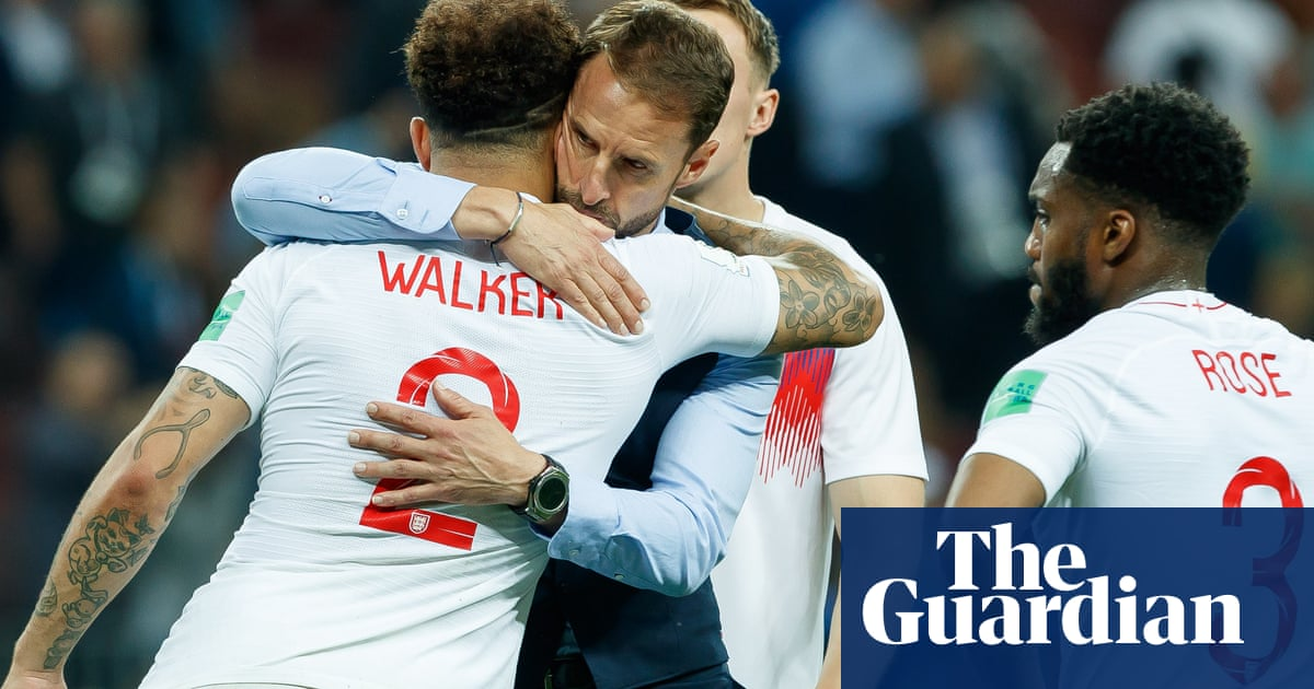 Englands class of 2018 return favour as Southgate looks back to go forward   David Hytner