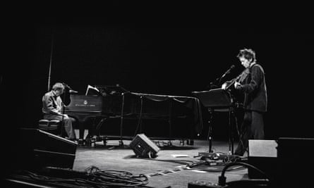 Philip Glass and Laurie Anderson.