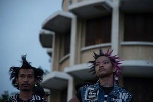 Thai punk fans.
