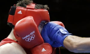 In previous Olympics, boxers have been drawn as exclusively from the amateur ranks.