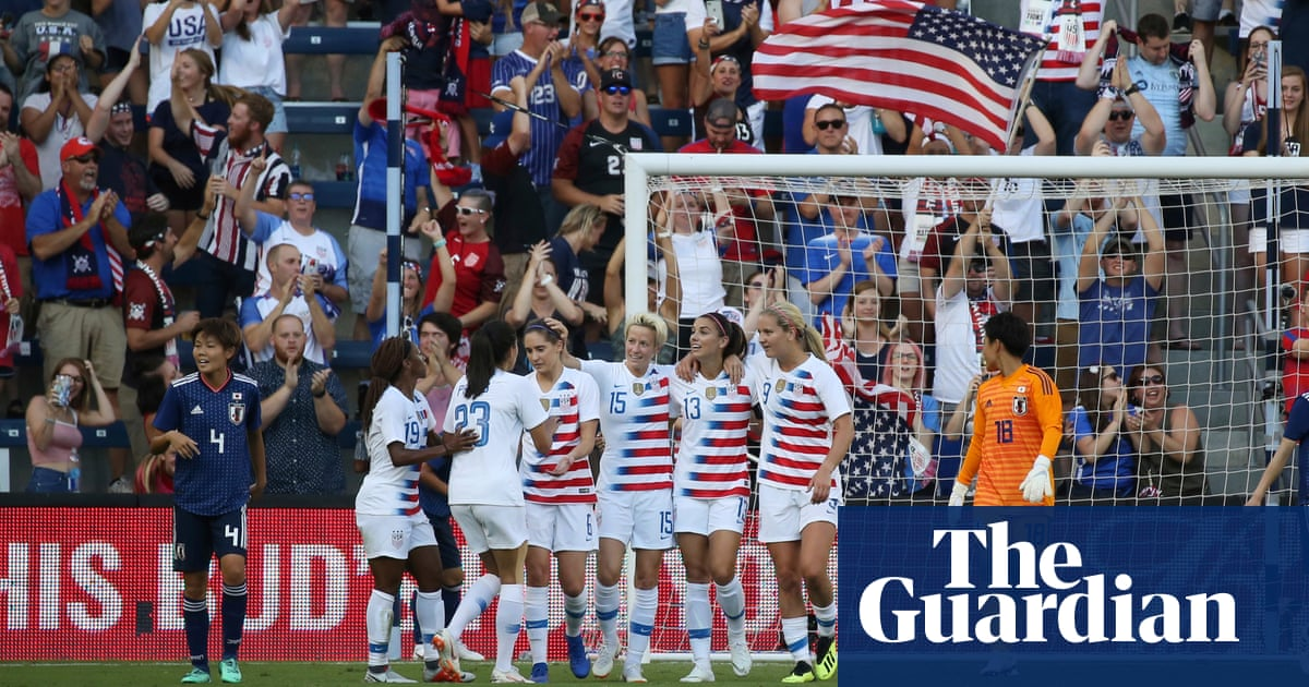 3309b7ea132 Alex Morgan hat-trick fires USA over Japan in Tournament of Nations opener