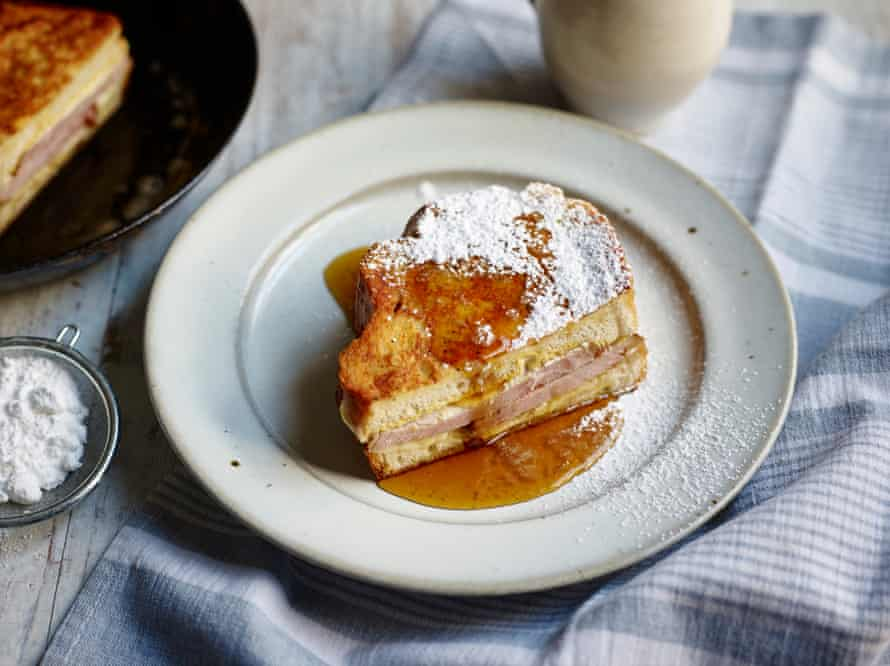 Richard Turner of Hawksmoor's monte cristo sandwich.