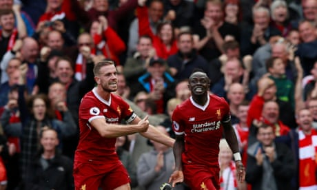 Sadio Mané makes vital breakthrough for Liverpool against Crystal Palace