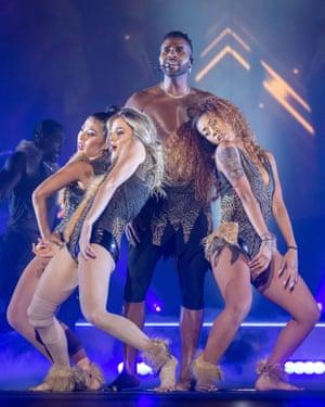 Jason Derulo review – full-beam charisma machine comes on
