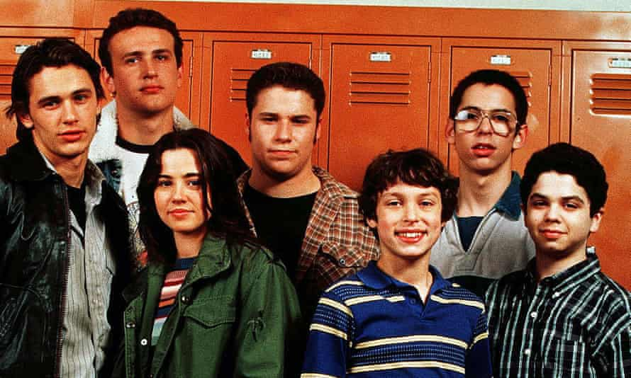 High impact ... the stars of Freaks and Geeks.