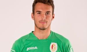 Standard Liège's Guillaume Hubert