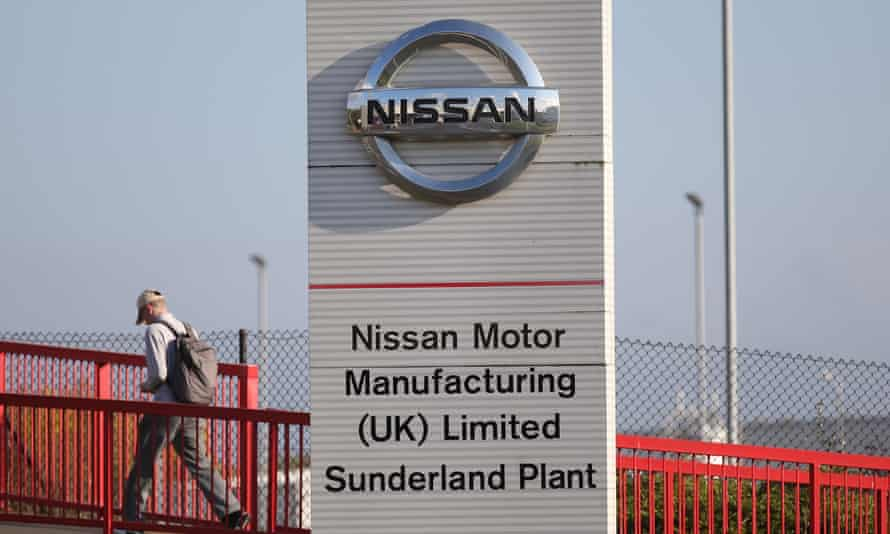 Production at Nissan's Sunderland plant, which lost out on building the new X-Trail SUV and Infiniti luxury brand, fell by 22%.