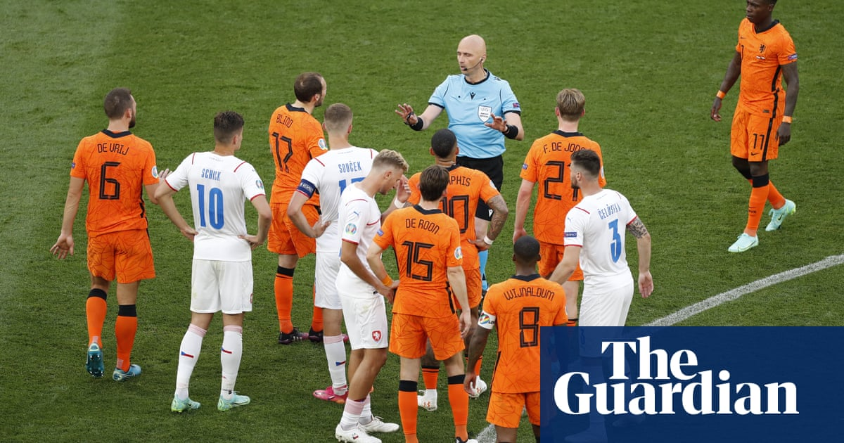 Refereeing and VAR among the unlikely highlights of Euro 2020