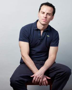 Actor Andrew Scott photographed at the Old Vic in London