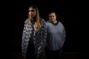 Apryl Watson and Belinda Stevens, the daughters of Indigenous woman Tanya Day, whose death in custody was the subject of a coronial inquest