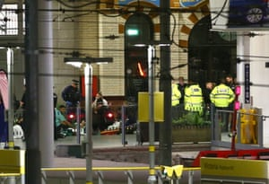 People treated at Victoria train station