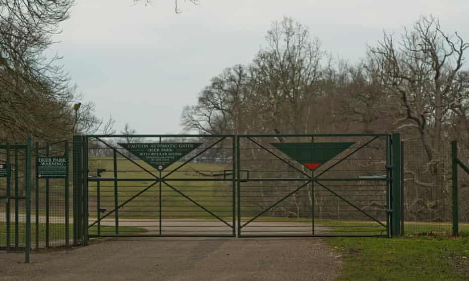 Gates at Windsor Great Park