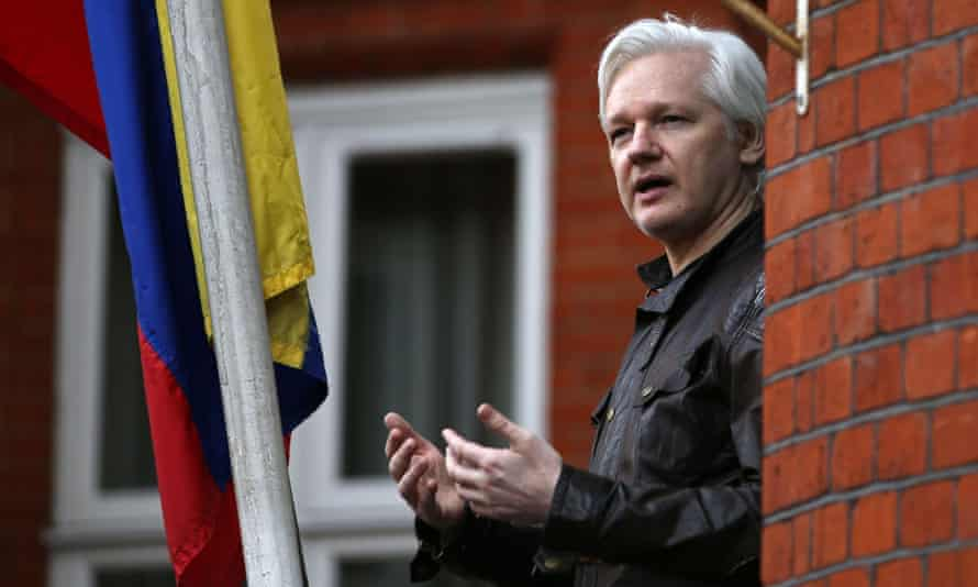 Moreno has repeatedly hinted that he wants to remove Julian Assange from the country's London embassy.