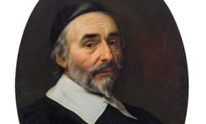 Detail from the Portrait of a Man by Van der Helst, which is to be auctioned in Vienna on 26 April.