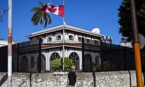 Canada cuts staff in Cuba embassy after mystery illness
