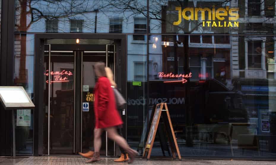 Jamie Oliver restaurant in Angel