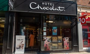 A Hotel Chocolat store in Berkshire.