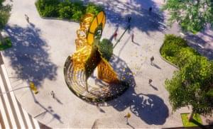 Shirley Chisholm monument