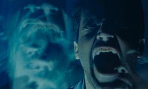 Unspeakable nightmare … Christopher Abbott in Possessor.