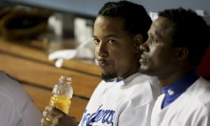Manny Ramirez during his time with the LA Dodgers in 2008