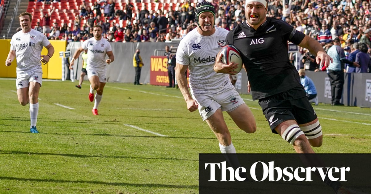 All Blacks demolish USA Eagles but rugby union's flag is flying in States