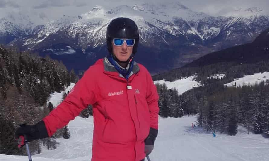 Ski instructor Nick Orgles