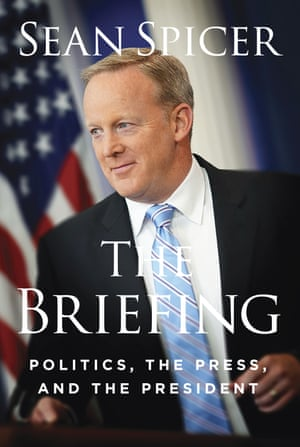 The cover of Sean Spicer's book.